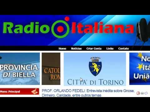 Prof  Orlando Fedeli fala sobre Gnose, Dinheiro, Caridade, e outros temas. Entrevista Rádio Italiana