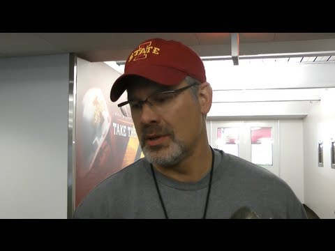 CFTV: Paul Rhoads talks ISU wide receivers