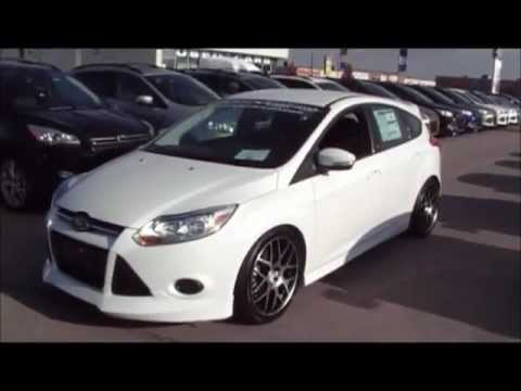 2013 Ford Focus St Canada Review Vs Focus Se Colony