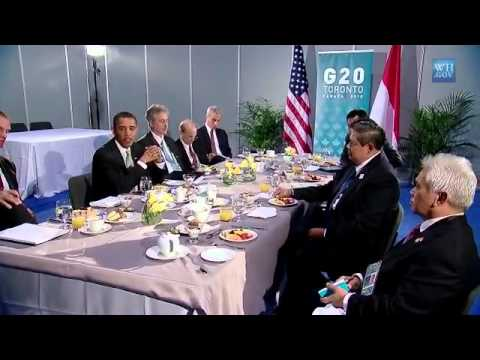 President Obama & Indonesian President Yudhoyono at G20 Summit