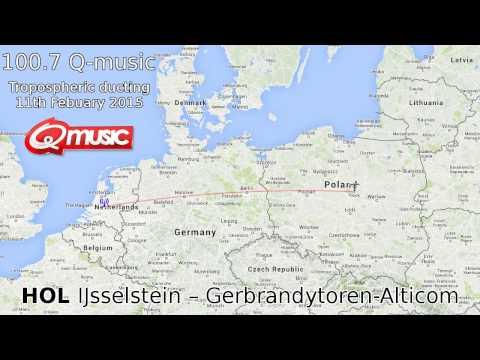 [tropo] Netherlands / IJsselstein – Gerbrandytoren 1000km