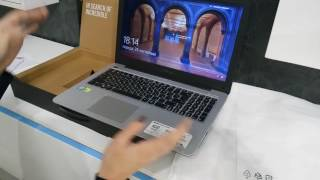 Ноутбук Asus X556UQ Распаковка и описание