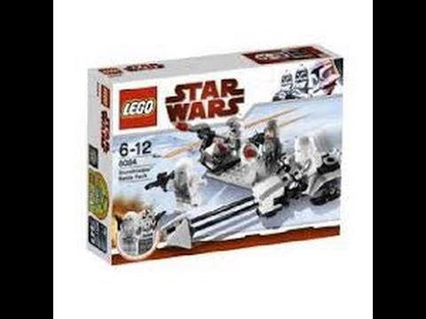 Lego Star Wars Rebel Trooper Battle Pack 8083 & Snow Trooper ...