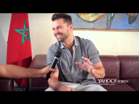 Ricky Martin in Morocco: World Cup, The Voice Arabia & his message to soccer fans this year.