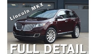 Lincoln MKX - Full Detail | Crazy Transformation!