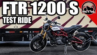 2019 Indian FTR 1200 S Test Ride | Worth The Hype???