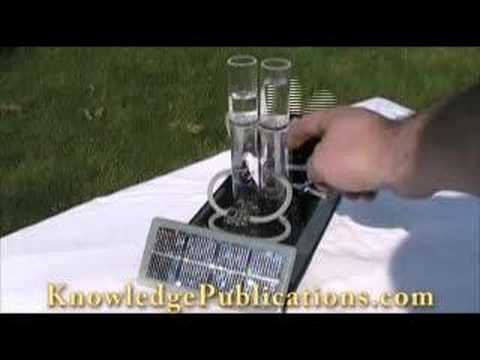 Solar Hydrogen Fuel Cell and Electrolyser Demonstration