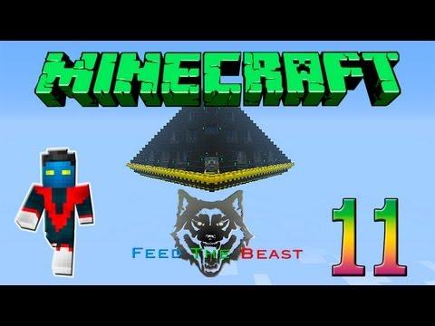 Minecraft Feed the Beast #11 (Ao Vivo) - Será que vai?