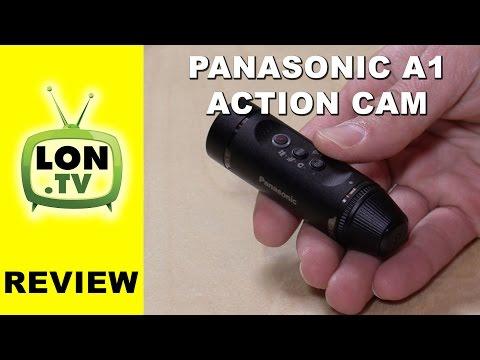 Panasonic A1: Ultra-Light Wearable HD Action Cam Review - HX-A1MK - HX-A1MD camera