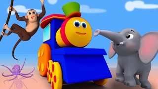 Bob The Train | abc song | Animal Alphabets Song | Nursery Rhymes by Bob The Train
