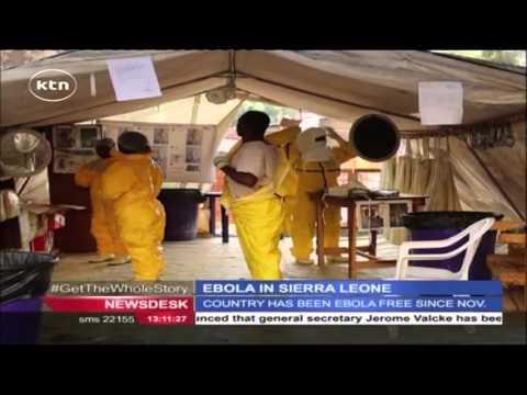 Health officials confirm an Ebola death in Sierra Leone