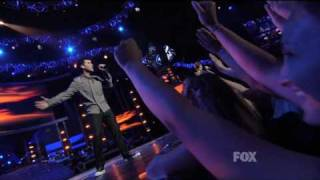 Клип David Archuleta - Hero ft. David Cook (live)