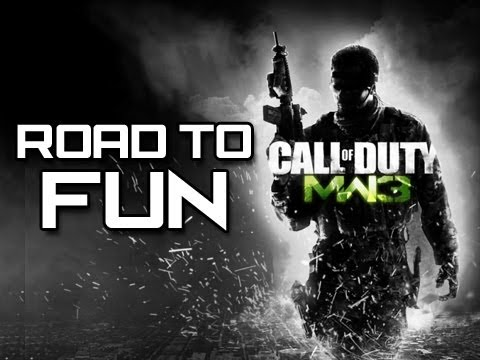 MW3 - Road to Fun - Game 1 (MW3 Live Gameplay/Commentary)