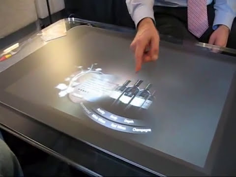 Microsoft Surface Demo @ CES 2008