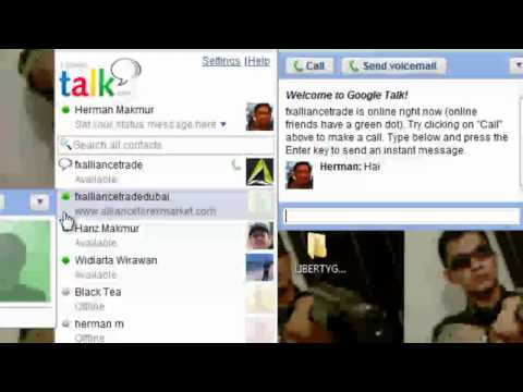 Google Talk | Komunikasi Online | Telpon Gratis video
