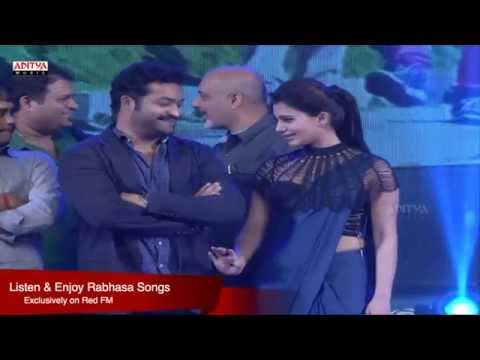 Rabasa Audio Launch Part 09 - Jr NTR,Samantha,Pranitha
