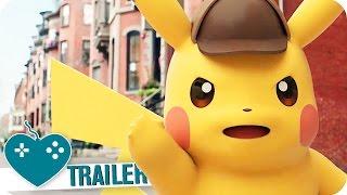 GREAT DETECTIVE PIKACHU Trailer (2016) 3DS