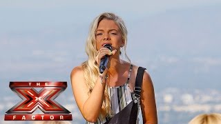 Louisa Johnson covers Aretha Franklin's Respect  | Judges Houses | The X Factor 2015