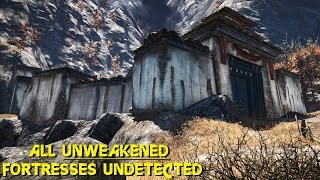 Far Cry 4 - ALL UNWEAKENED fortresses undetected killer stealth conquests ( GTX 980 OC + 4790k OC )