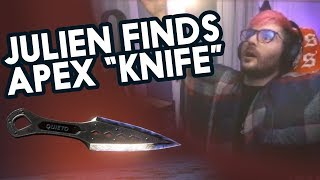 Julien finds the Apex Knife!