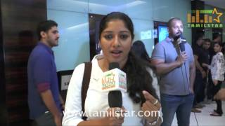 Anumol At Oru Naal Iravil Special Screening