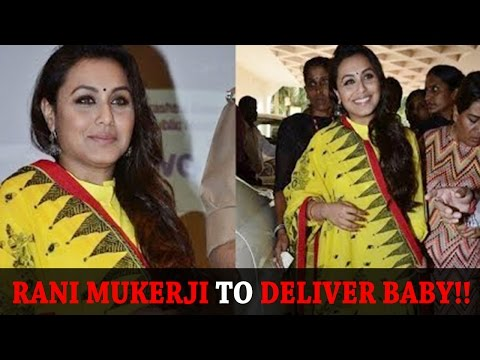 Rani Mukerji To Deliver Baby By January - Bollywood Latest News