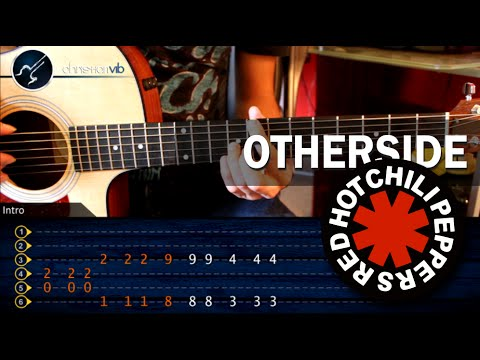 Como tocar Otherside RED HOT CHILLI PEPPERS en guitarra Acustica HD Tutorial Completo