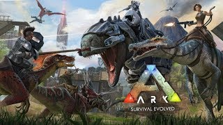 Ark survival mobile  gameplay