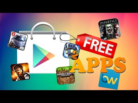 How To Get Paid Apps & Games For Free