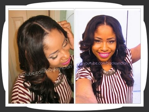 NATURAL Lace Closure & U-Part Wig Application (NO SEW. NO GLUE)