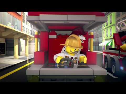Мультфильм LEGO City ʺСвет, камера, моторʺ