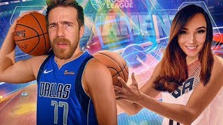 Athena and I try to WIN a Hoops Tournament!