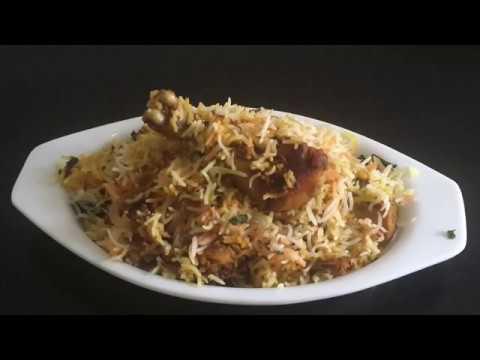 Hyderabad Chicken Dum Biryani | Natural Recipes