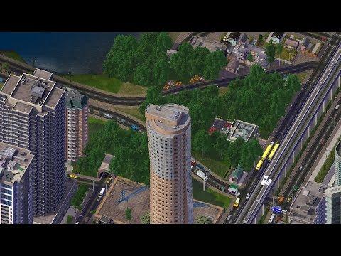 Simcity 4 Bullet Train video