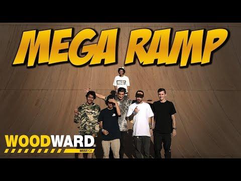 MEGA RAMP SESSION WOODWARD 2017