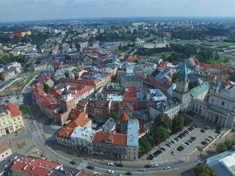 Stare Miasto W Lublinie Z Lotu Ptaka