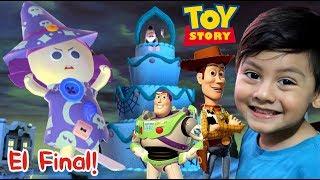 Toy Story Final   Woody y Buzz Lightyear vs La Bruja   Juego para niños de Disney
