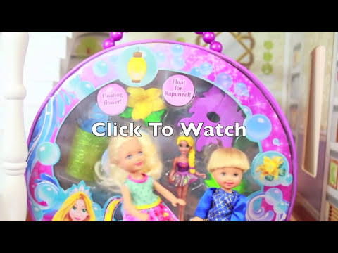 Disney Tangled Rapunzel Bath Fun Toy Princess Magiclip Doll Review AllToyCollector