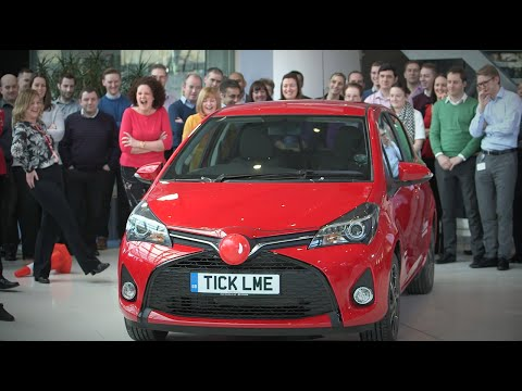 Toyota presents: Project Chuckle for Red Nose Day
