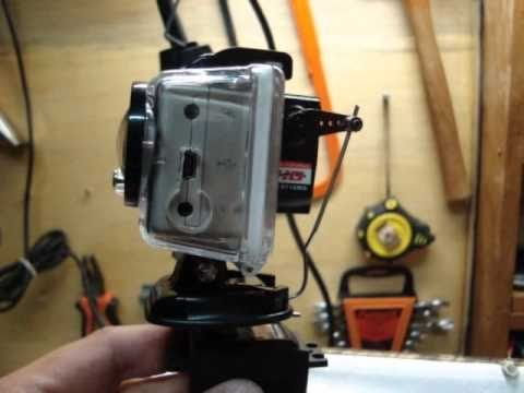 DIY GoPro Hero HD Pan Tilt - Home Made