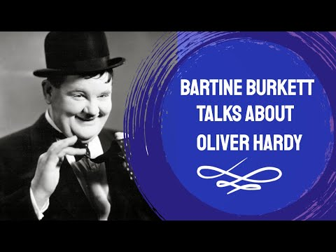Bartine Burkett Zane talks about Oliver Hardy | HollywoodTimeMachine.com
