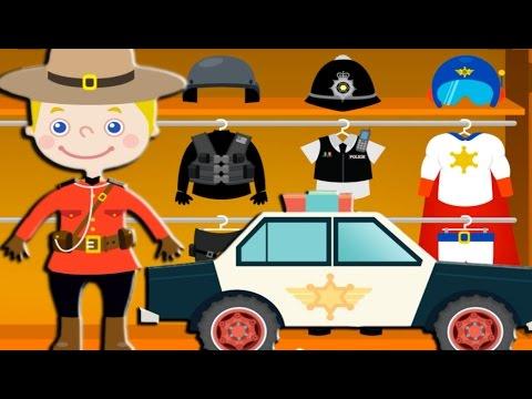ИЗУЧАЕМ ЦВЕТА С ПОЛИЦЕЙСКИМ. Про полицейские машинки мультики. Полиция игры для детей Машина полиция