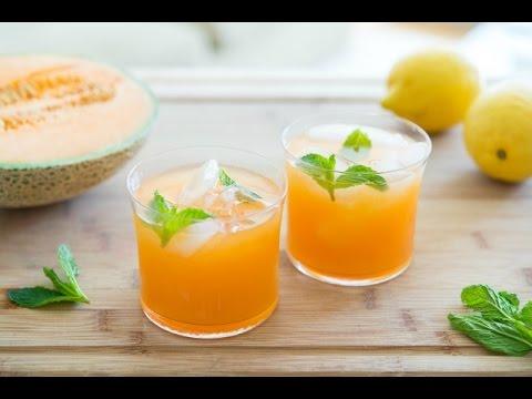 CANTALOUPE AGUA FRESCA - Easy & Refreshing Summer Drink Recipe - Fifteen Spatulas