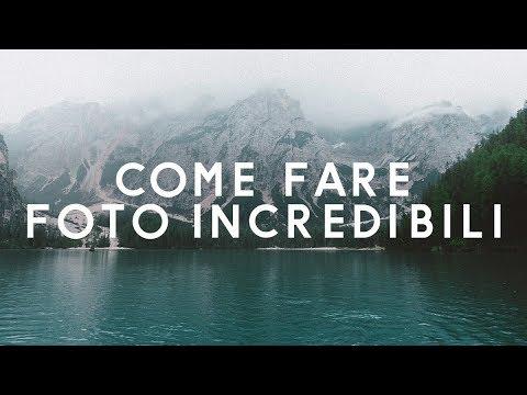 6 REGOLE PER FARE FOTO INCREDIBILI - Tutorial Fotografia