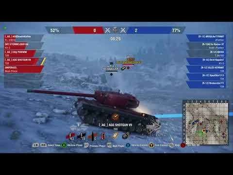 AGG XBOX 1 World of Tanks Training Session