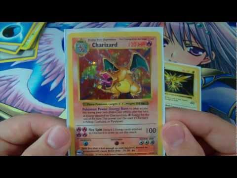 Opening a Shadowless Base Set Charizard! 1st Charizard Pull On YouTube!
