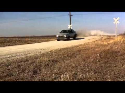 91 VW Jetta diesel jump (little smoky)