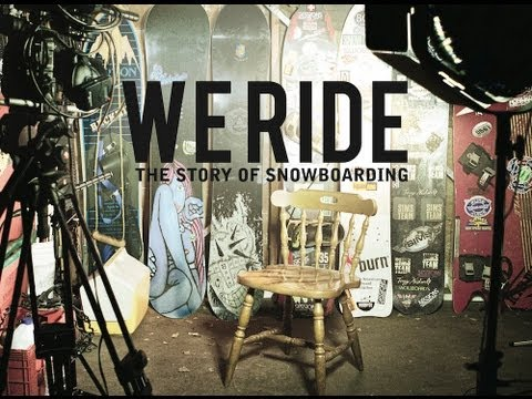 We Ride - The Story Of Snowboarding (Trailer) / ONLINE 24.02 19:00CET