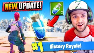 *NEW* SHIELD + TRAP in Fortnite: Battle Royale! (NEW UPDATE)