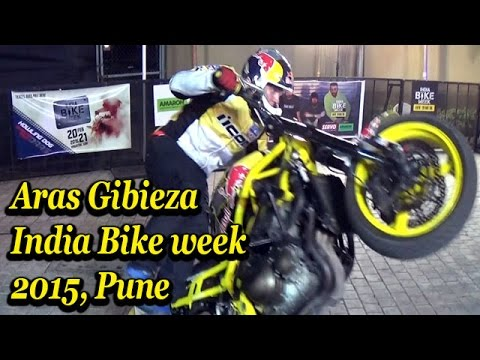 Bikes 2015 India Stunts at India Bike Week
